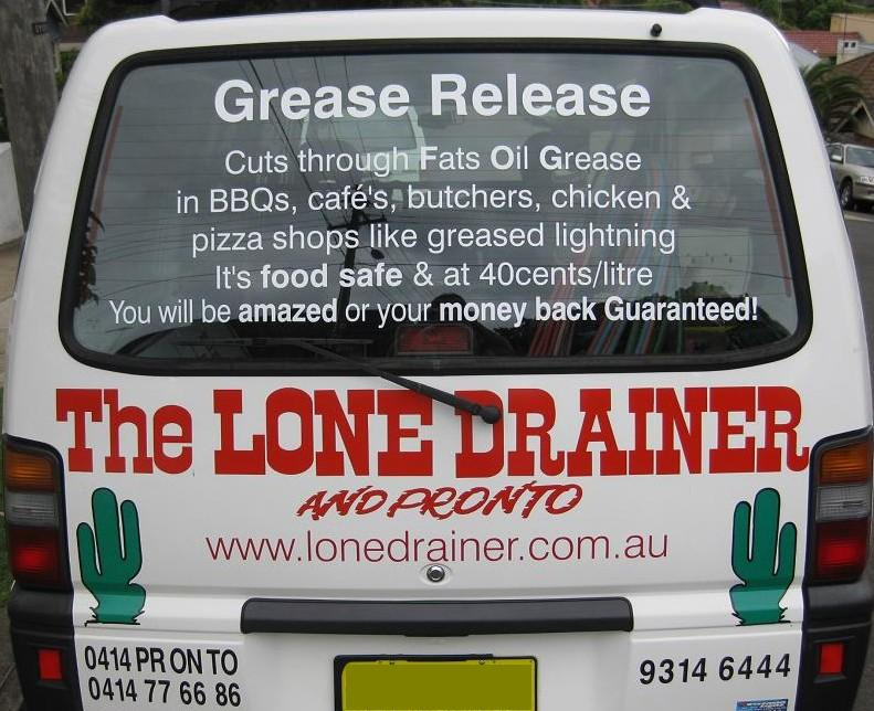 The Lone Drainer And Pronto!