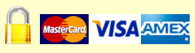Secure Payment Gateway catered for Mastercard, VISA and Amex Payments